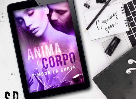 """COVER REVEAL: SIMONA LA CORTE – """"ANIMA E CORPO"""""""