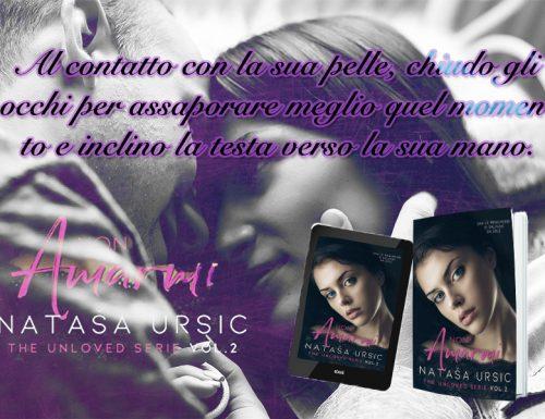 """Recensione: """"Non amarmi"""" Natasa Ursic"""
