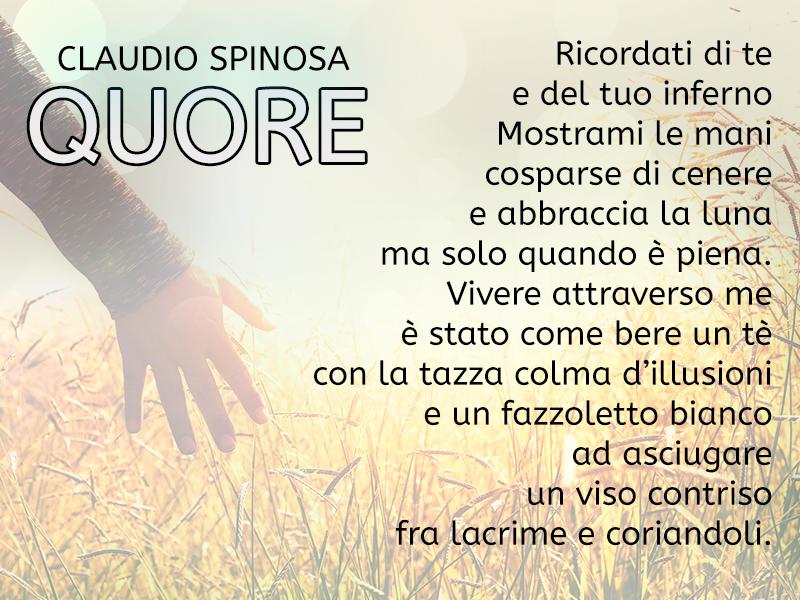 Conosciamo l'autore Claudio Spinosa