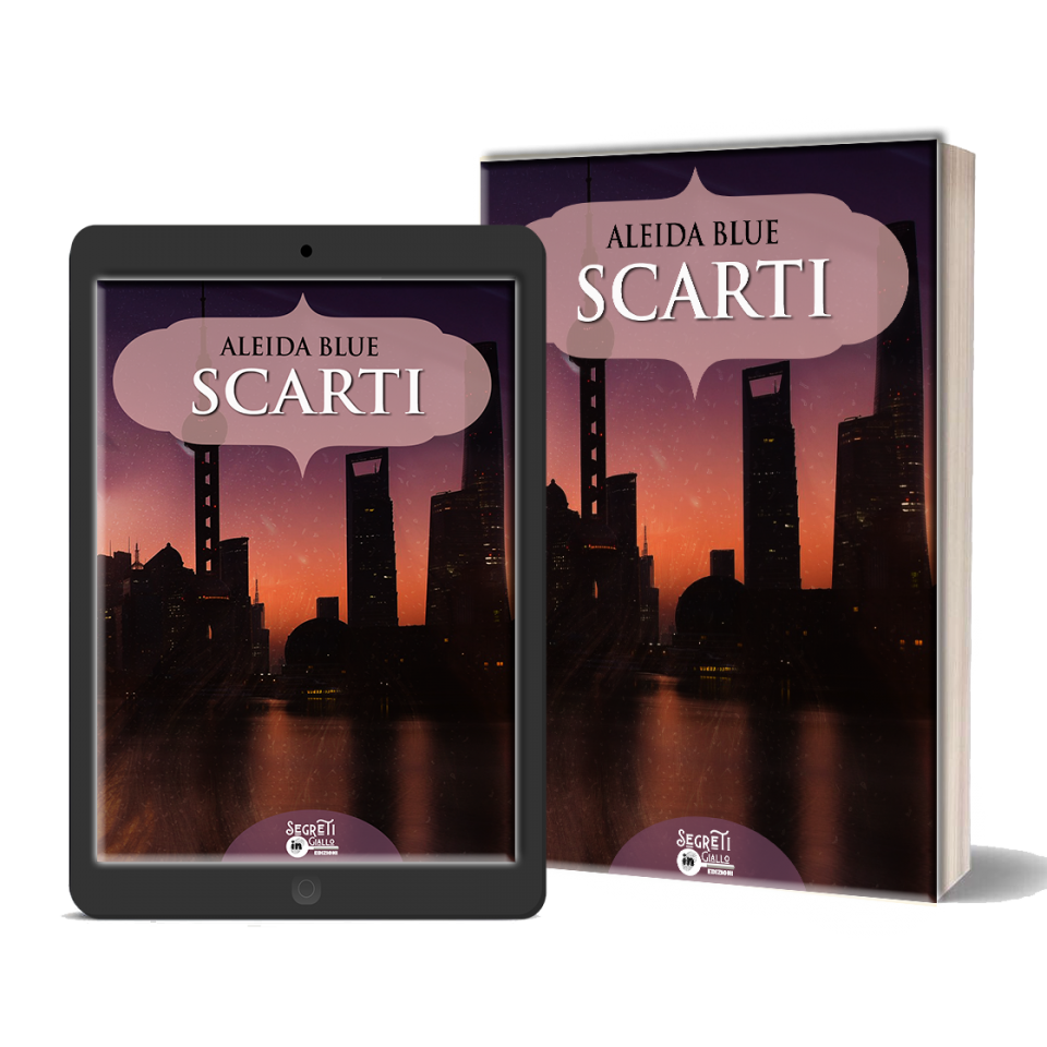 "Cover reveal ""Scarti"" di Aleida Blue"