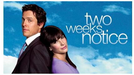 "Recensione film: ""TWO WEEKS NOTICE"""